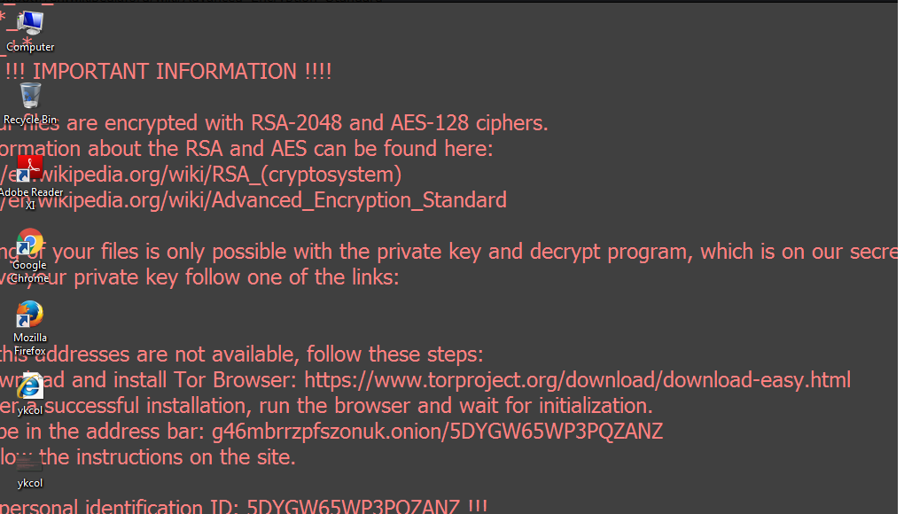 Supprimer RotorCrypt Ransomware