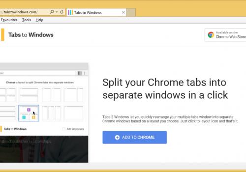 Távolítsa el a Tabs to Windows