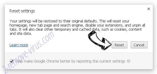 WalletBee Ads Chrome reset