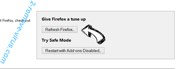 WalletBee Ads Firefox reset