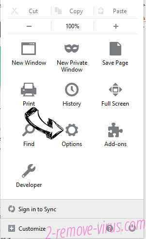 Tabs to Windows Firefox reset confirm