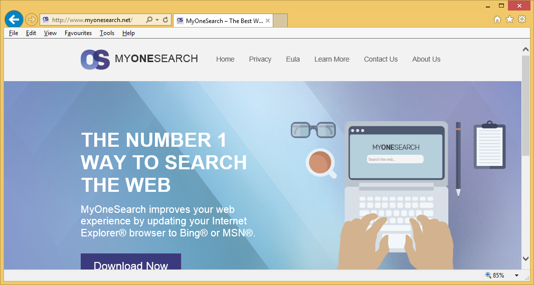 Come rimuovere MyOneSearch.net