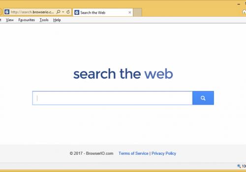 إزالة Search.browserio.com