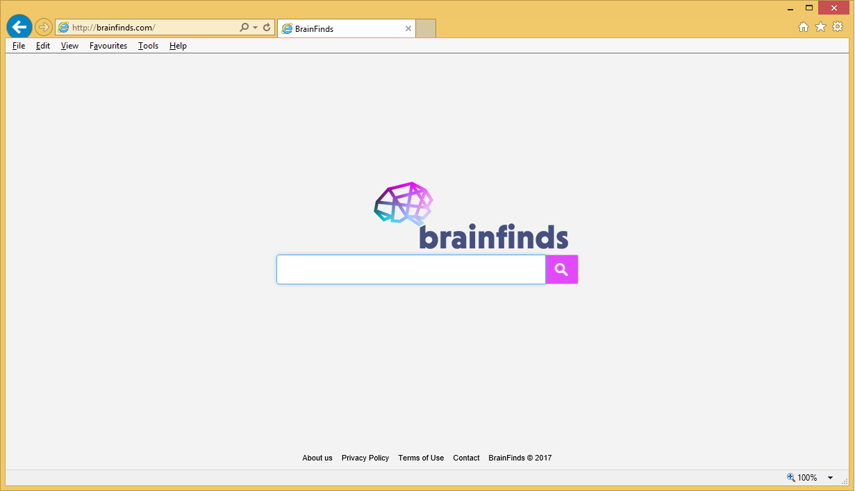 إزالة Brainfinds.com Search