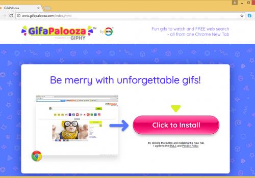 Remove GifaPalooza Toolbar