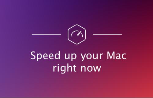 Sådan fremskynde Mac