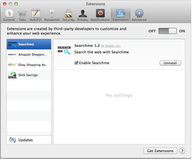 MAC extensions