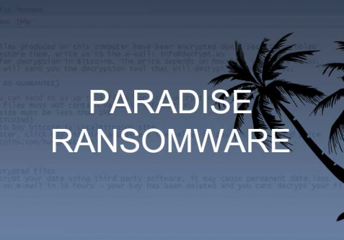 Remover Paradise Ransomware