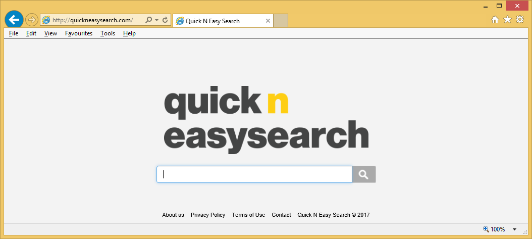 Quickneasysearch.com – come rimuovere?