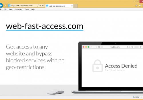 Web-fast-access.com Removal