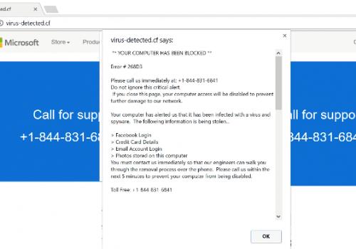 Remove YOUR COMPUTER HAS BEEN BLOCKED Scam