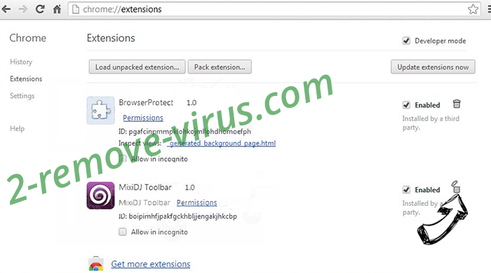 StartXXL Virus Chrome extensions remove