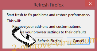 Quickneasysearch.com Firefox reset confirm