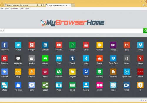 MyBrowserHome.com Removal