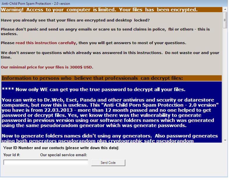 ACCDFISA v2.0 Ransomware