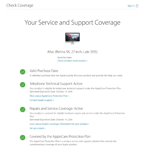 AppleCare And Warrant