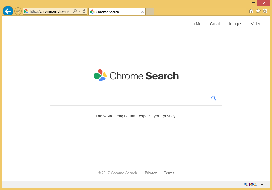 Wie entfernen Chromesearch.win virus