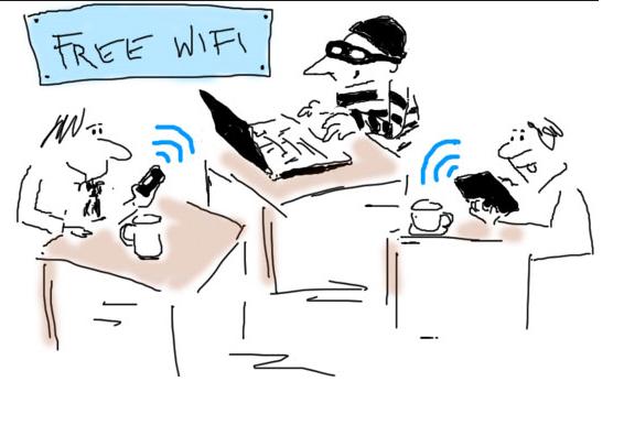 Do not use public WiFi