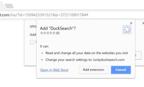 Remove DuckSearch Virus