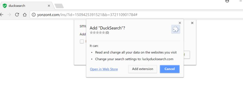 Rimuovere DuckSearch Virus
