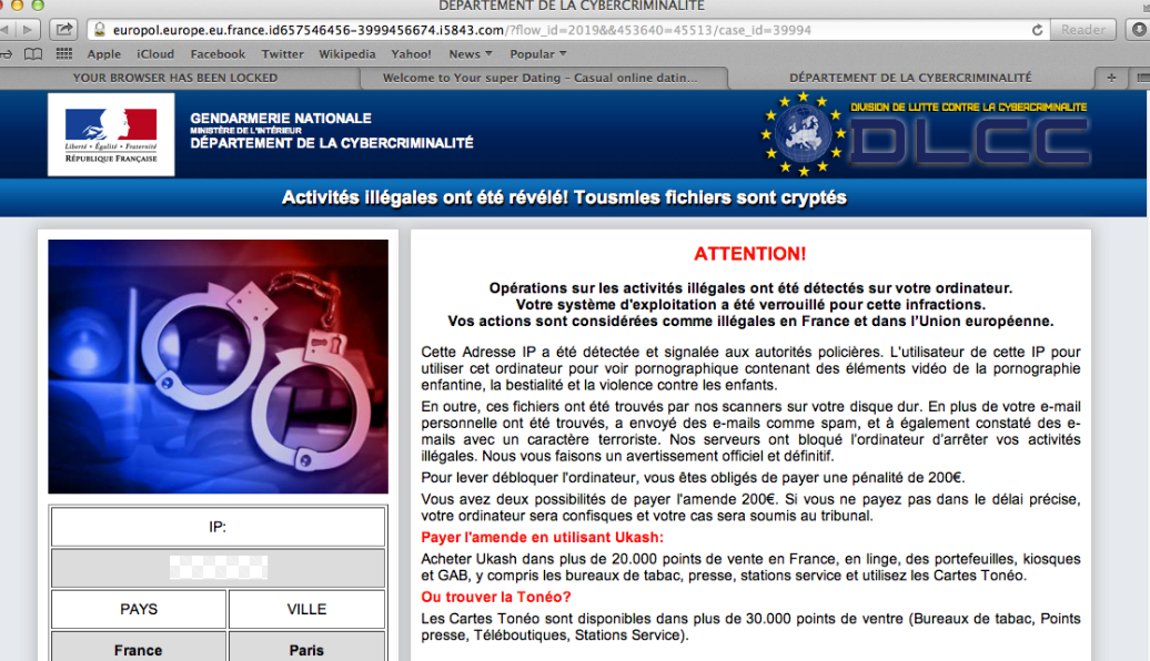 Remove French ransomware