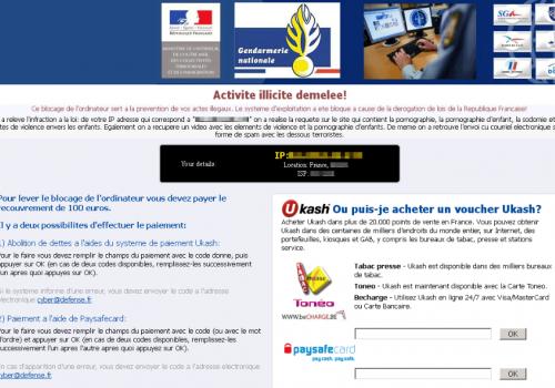 Удаление Gendarmerie Ransomware