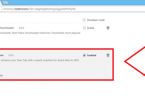 How to remove MP3 Search Engine