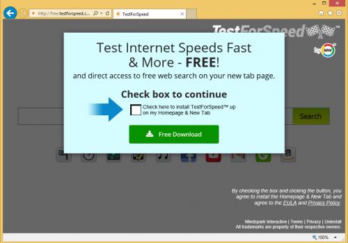 TestForSpeed Toolbar Removal