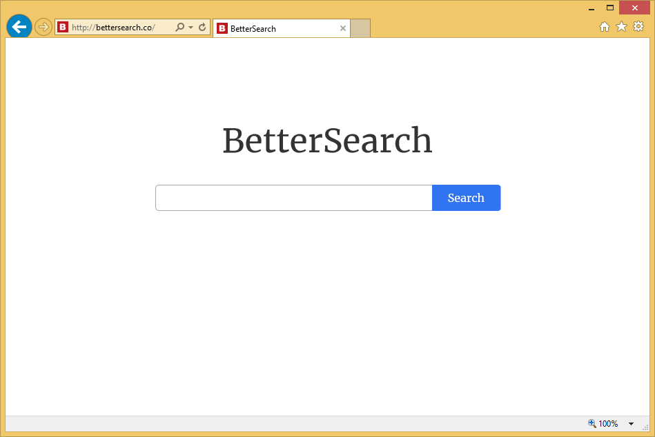 Hur tar man bort Bettersearch.co