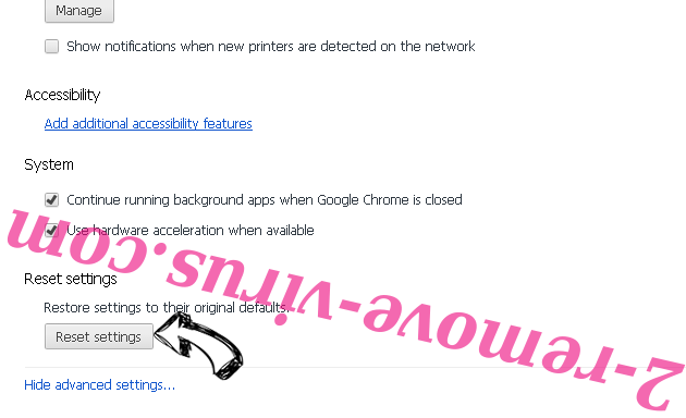 """Windows Security Notification"" Fake Alerts Chrome advanced menu"