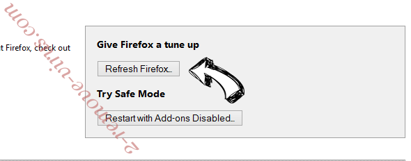 Search.yourtelevisionhub.com Firefox reset