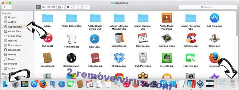 Sowin8.com removal from MAC OS X