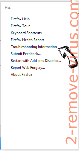 Trotux.com virus Firefox troubleshooting
