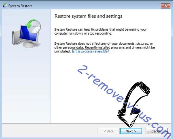 Get rid of SnowPicnic ransomware - restore init