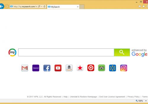 Удалить из Chrome, Firefox & Internet Explorer Hp.MySearch.com