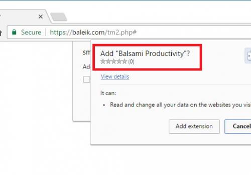 Odstrániť Baleik.com