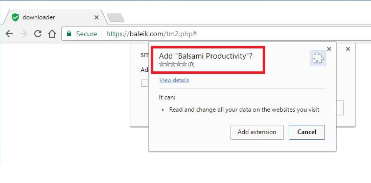 Baleik.com entfernen