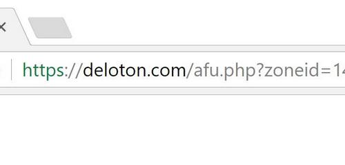 Slik fjerner Deloton.com