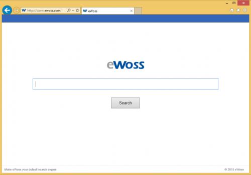 Come rimuovere Ewoss.com