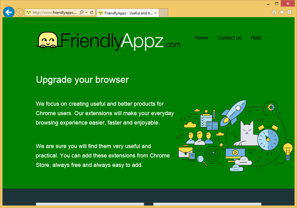 Menghapus Friendlyappz.com