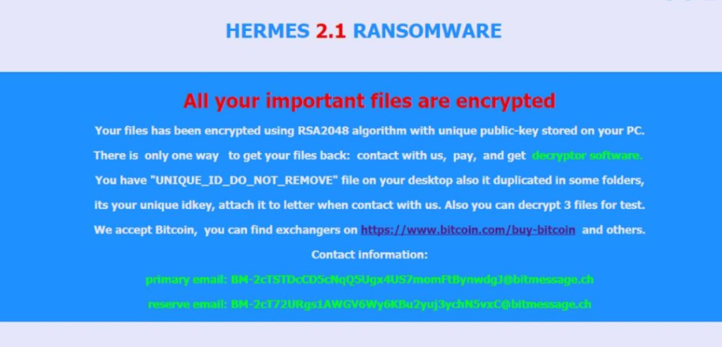 Hrm File Virus
