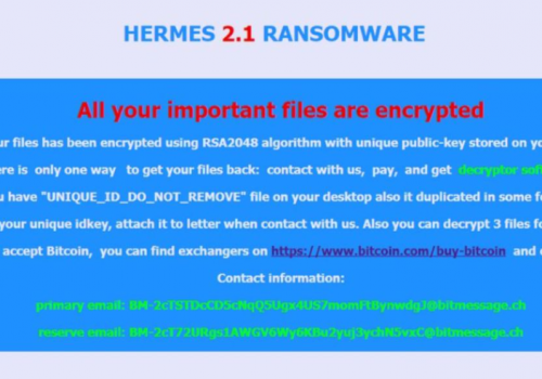 Fjern .Hrm File Virus