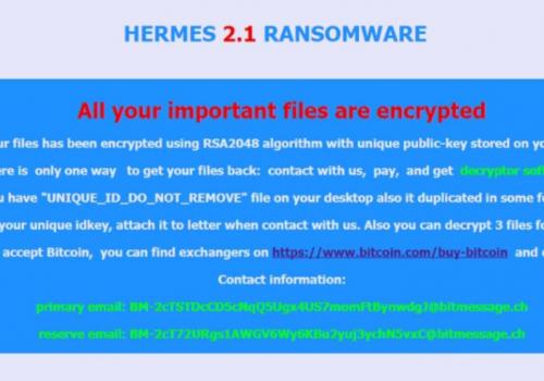 Odstranit .Hrm File Virus