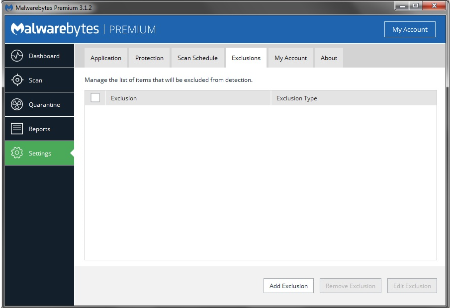 Como Whitelisting programas e sites no Malwarebytes
