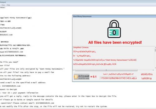 Odstranit WantMoney Ransomware