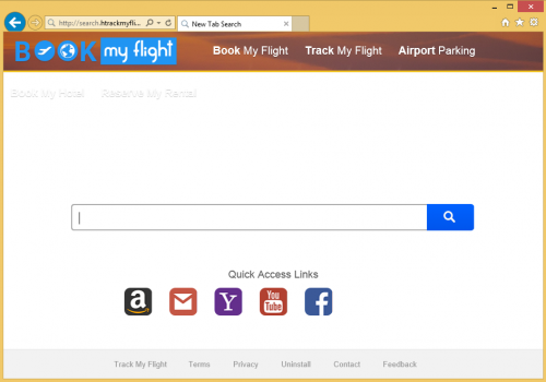 Fjerne search.htrackmyflight.co