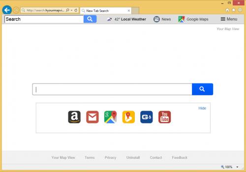 Search.hyourmapview.com Virus entfernen