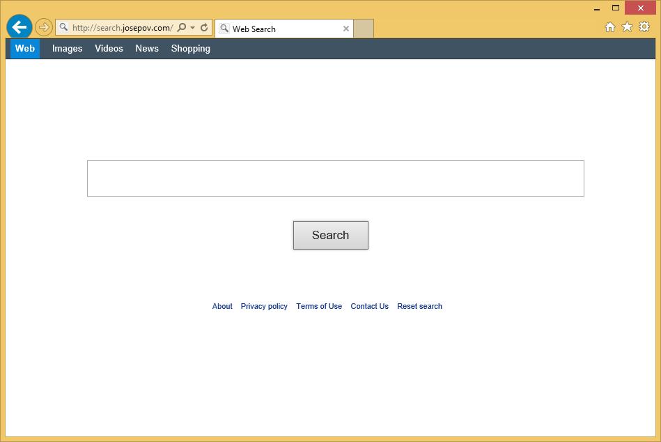 Jak usunąć Search.josepov.com