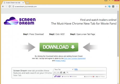 Remove ScreenDream.YourNewTab.com